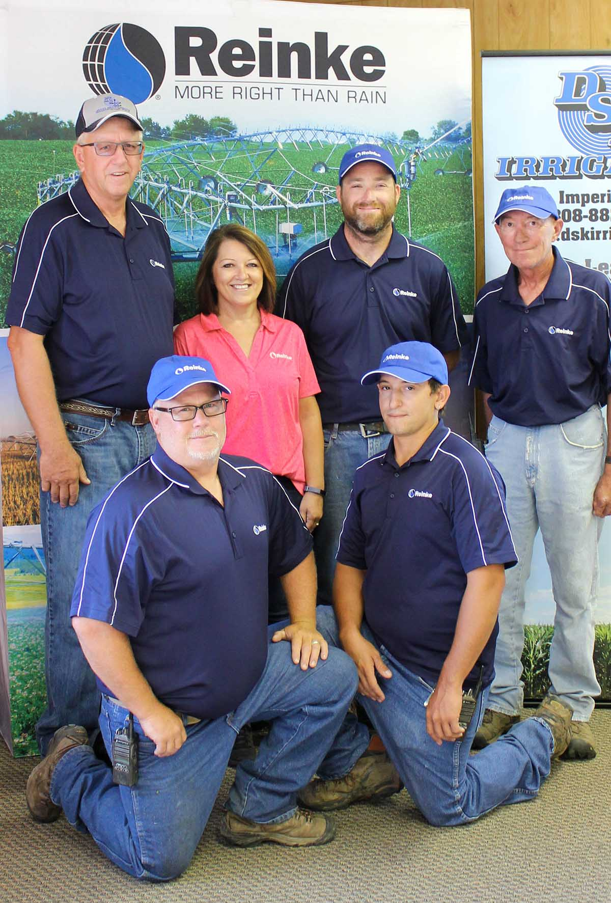 Our team of Service Technicians at DSK Irrigation in Imperial, Nebraska